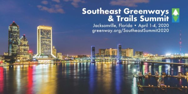 Southeast Greenways & Trails Summit set for April 1-4 in Jacksonville