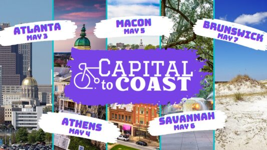 "Governor's Office of Highway Safety ""Capital to Coast"" events focus on cycling safety"