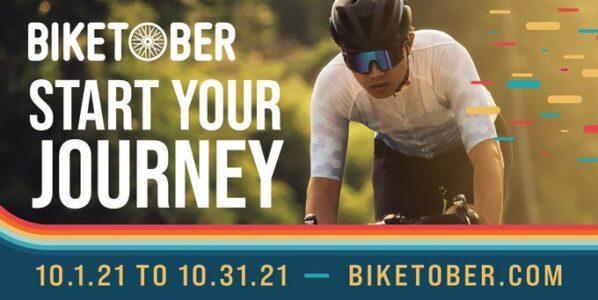 Biketober challenge kicks off Oct. 1